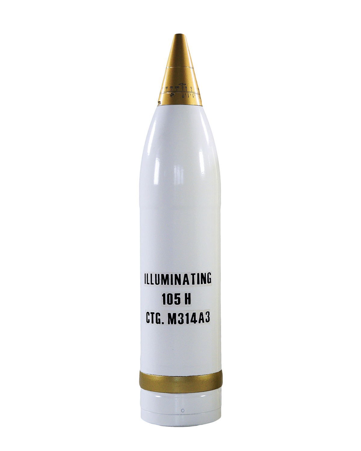 105 mm round with ILLUM shell M314A3